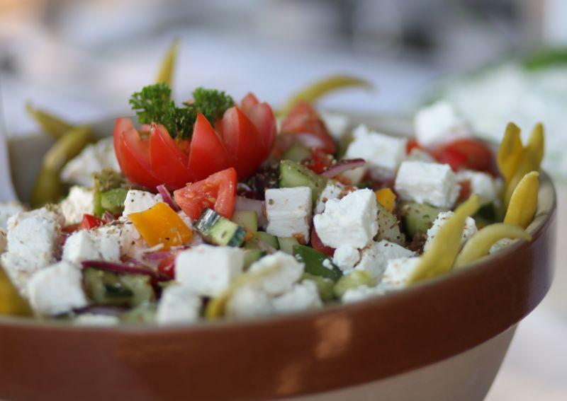 Buffett BayernLB Sportarena Griechischer Salat