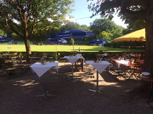 Gastgarten Sommer Feste Feiern Bayern LB Sportarena München