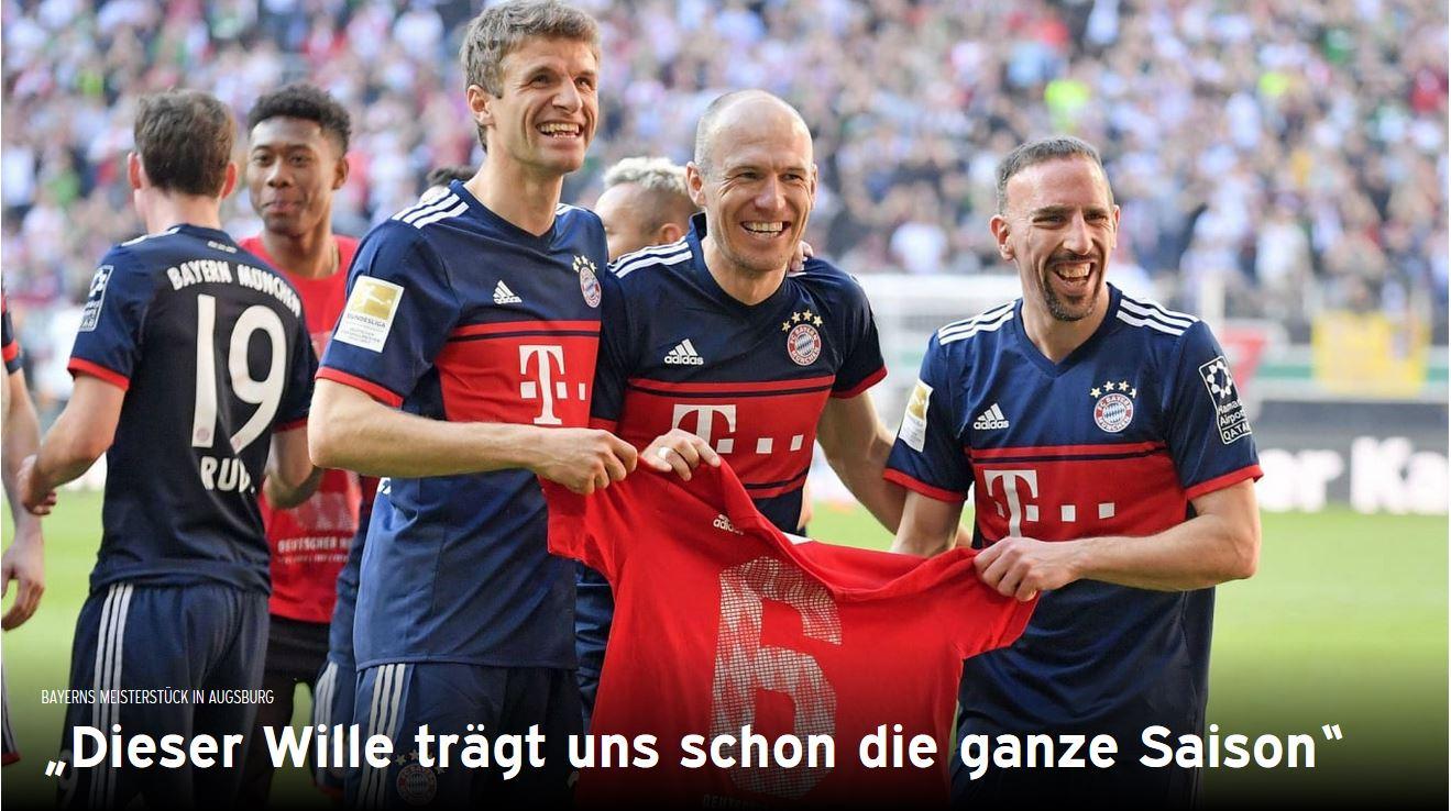 Fc Bayern - Bundesliga - Meister - 2018 Quelle FC Bayern https://fcbayern.com/de/meister2018#