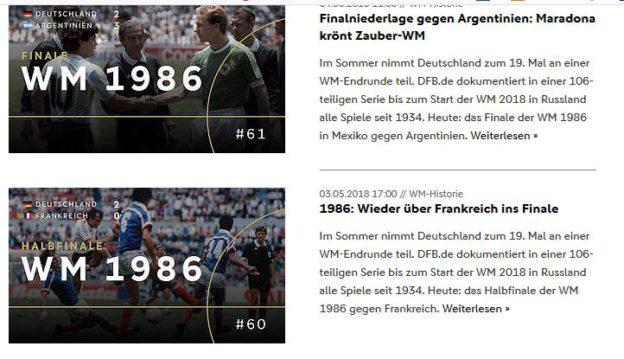 WM Rückblick DFB Serie News