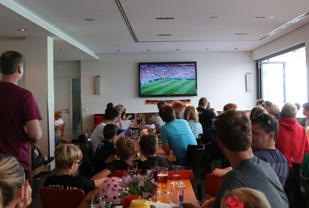 public viewing WM 2018 Bayern LB Sport Arena München